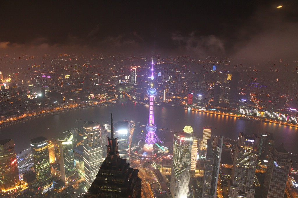 View from Shanghai World Financial Center (1)