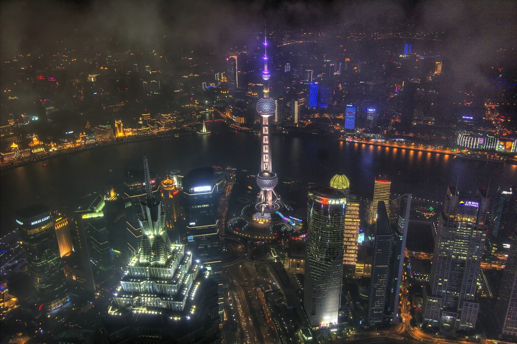View from Shanghai World Financial Center (2)