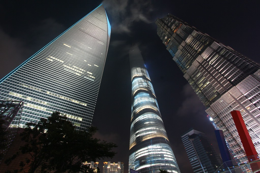 Three Towers ... SWFC - Shanghai Tower - Jin Mao